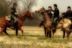 Riding horses Civil War