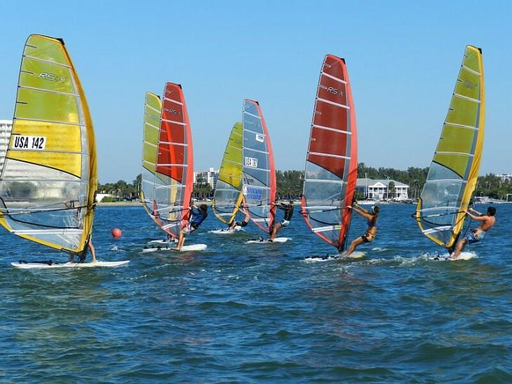 Windsurfing-Regatta