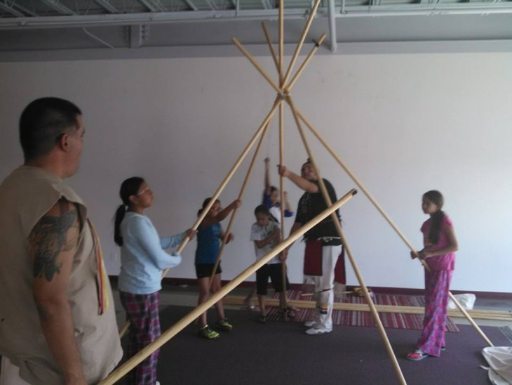 LAKOTA WAYS - Hands On Tipi Raising with Guests copy