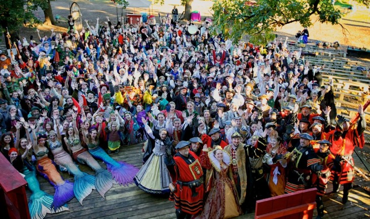 Ren Fest Cast photo